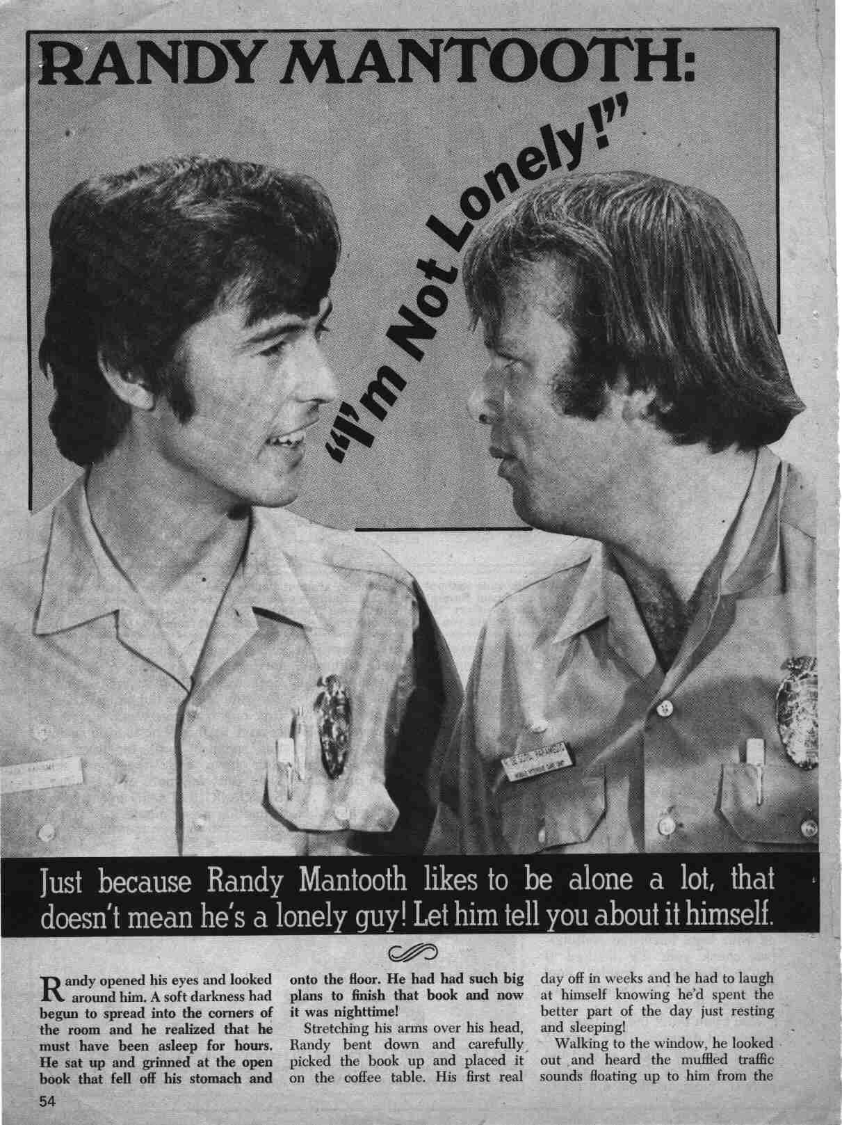 Randolph Mantooth Rose Parra